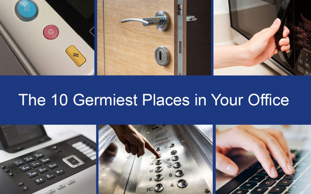 germiest places in the office